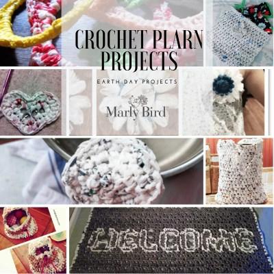 Crochet Plarn Projects