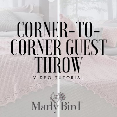 Learn Corner to Corner Crochet with the Guest Throw