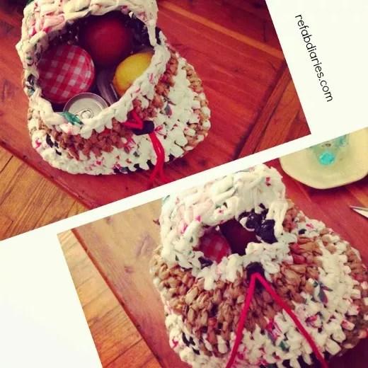 Crochet Plarn Lunchbag