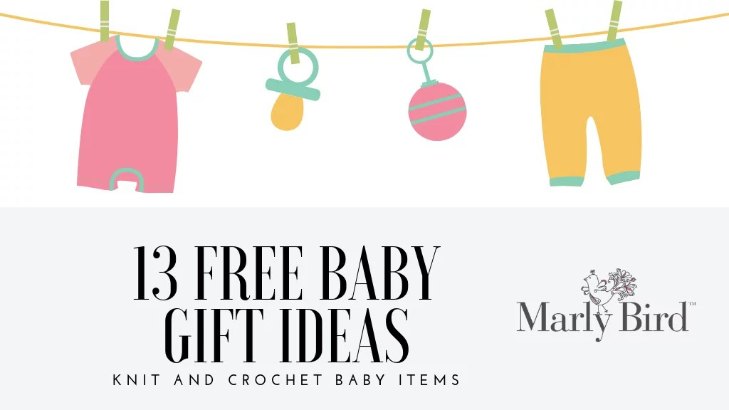 13 FREE Baby Projects in knit and crochet