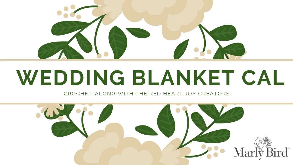 Join the Wedding Blanket CAL for a beautiful heirloom crochet blanket