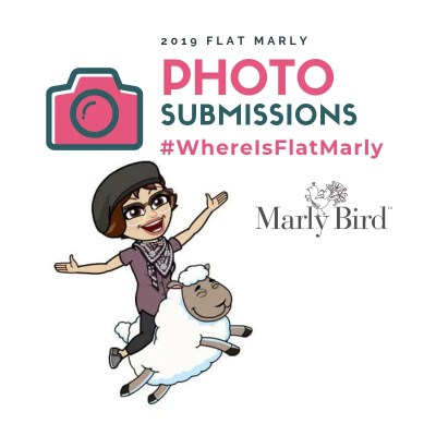 Enter your Flat Marly Photos over on the Marly's Minions Facebook Group