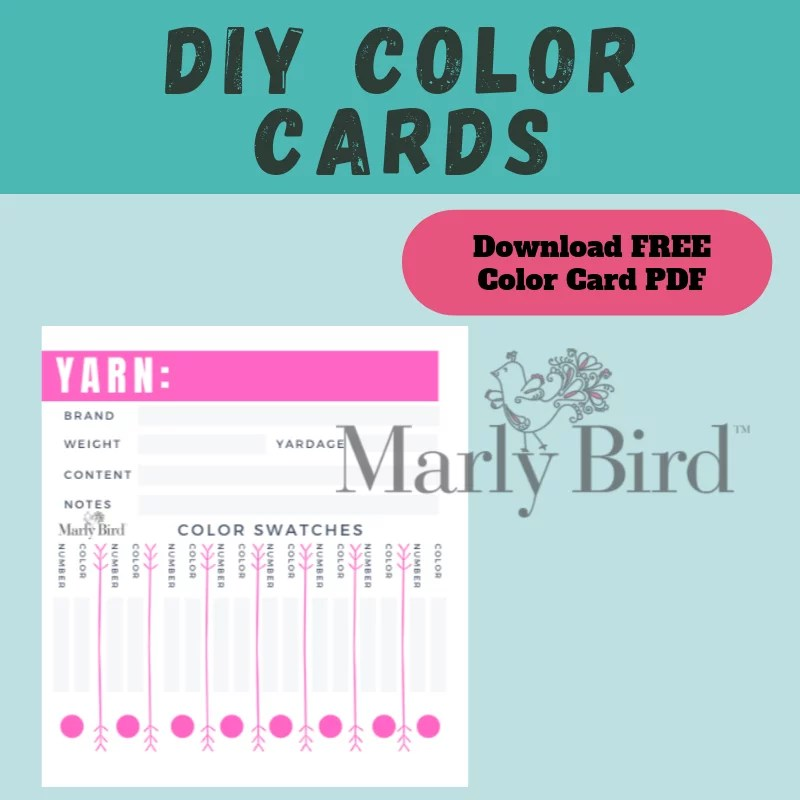 Download your FREE DIY Color Card Sheet