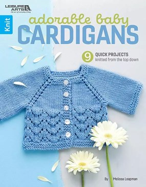 Purchase your copy of Adorable Baby Cardigans