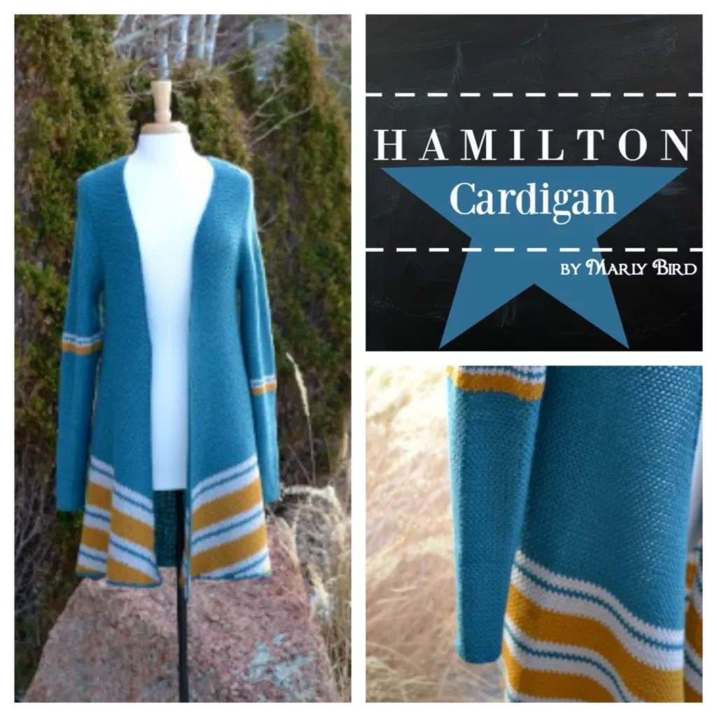 Hamilton Crochet Cardigan by Marly Bird