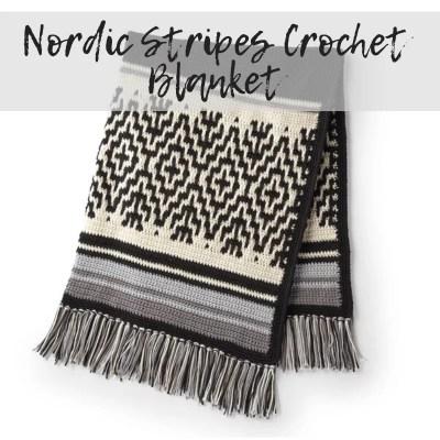 FREE Mosaic Crochet Blanket