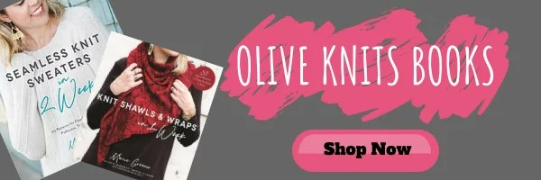 Purchase Olive Knits Books on Amazon