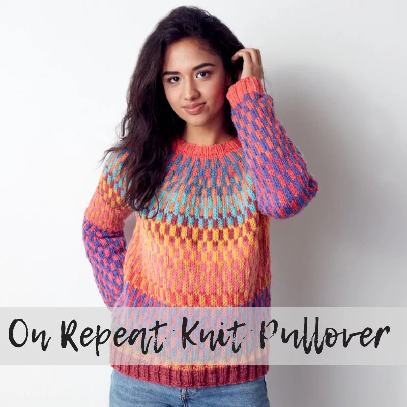 FREE Knit Pullover from Yarnspirations