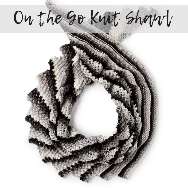 Download the On the Go Knit Shawl Pattern