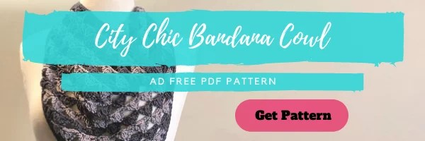 Download the FREE City Chic Bandana Cowl from yarnspirations