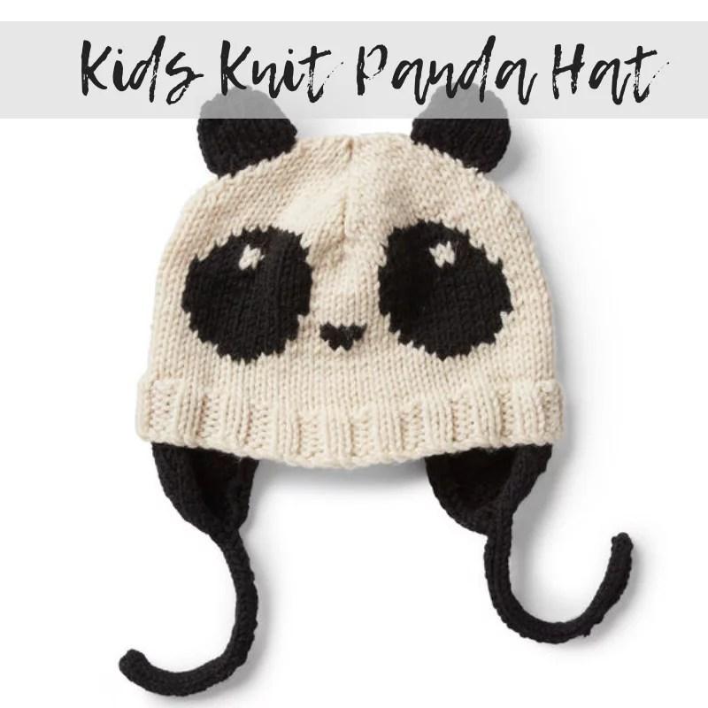 FREE Knits Knit Hat with Panda