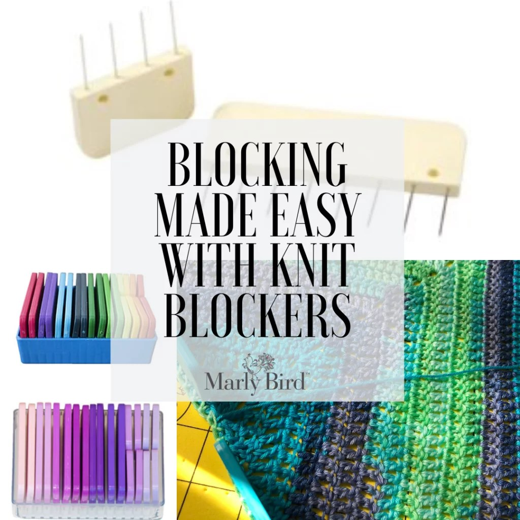 Blocking made easier with blocking tools-Knit Blockers from Jimmy Beans Wool