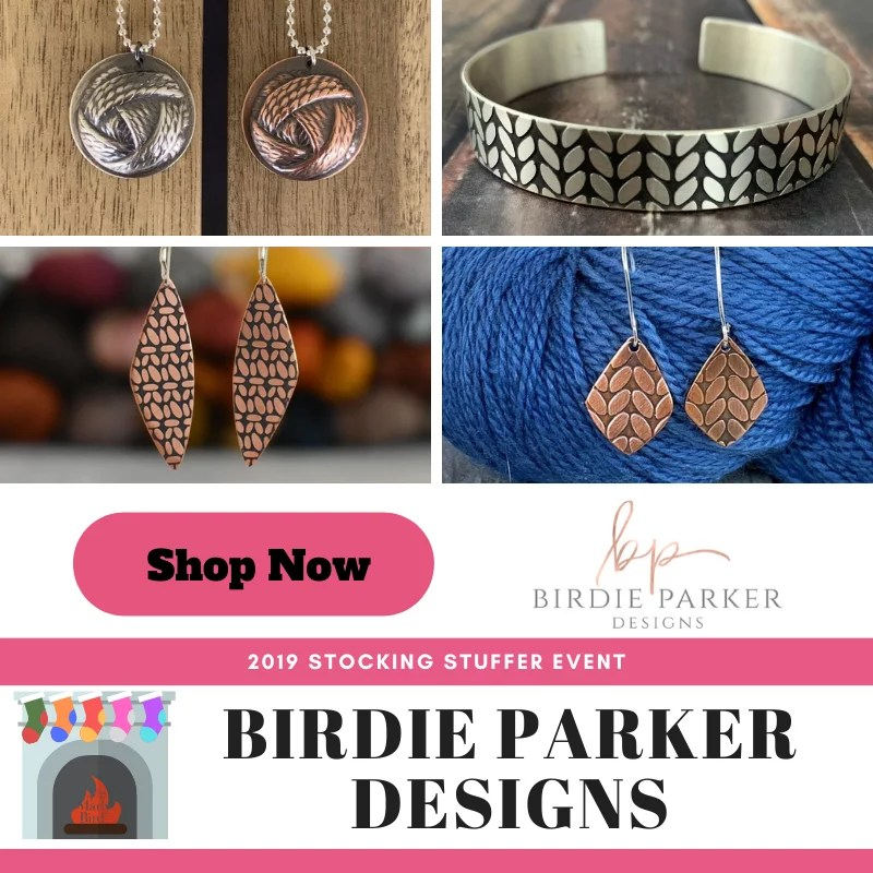 Shop Birdie Parker Designs in the 2019 Stocking Stuffer Event with Marly Bird