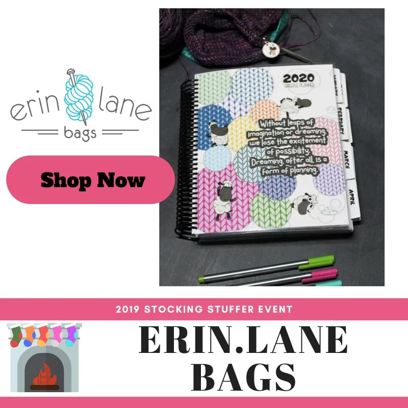Shop the Erin.Lane Bags Planner in the 2019 Stocking Stuffer Event with Marly Bird