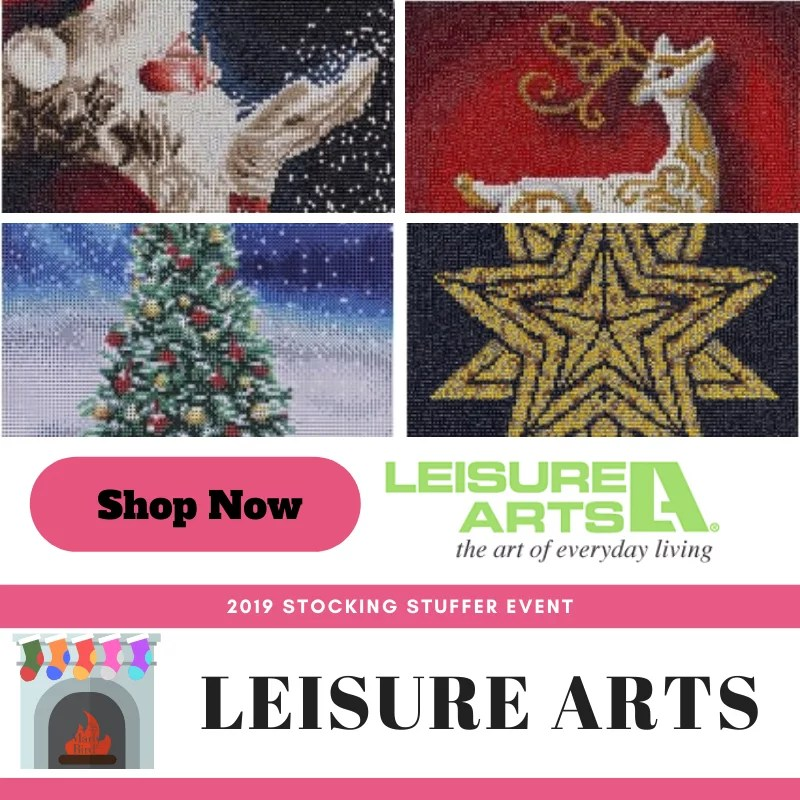 Shop Holiday Diamond Art from Leisure Arts in the 2019 Stocking Stuffer Event