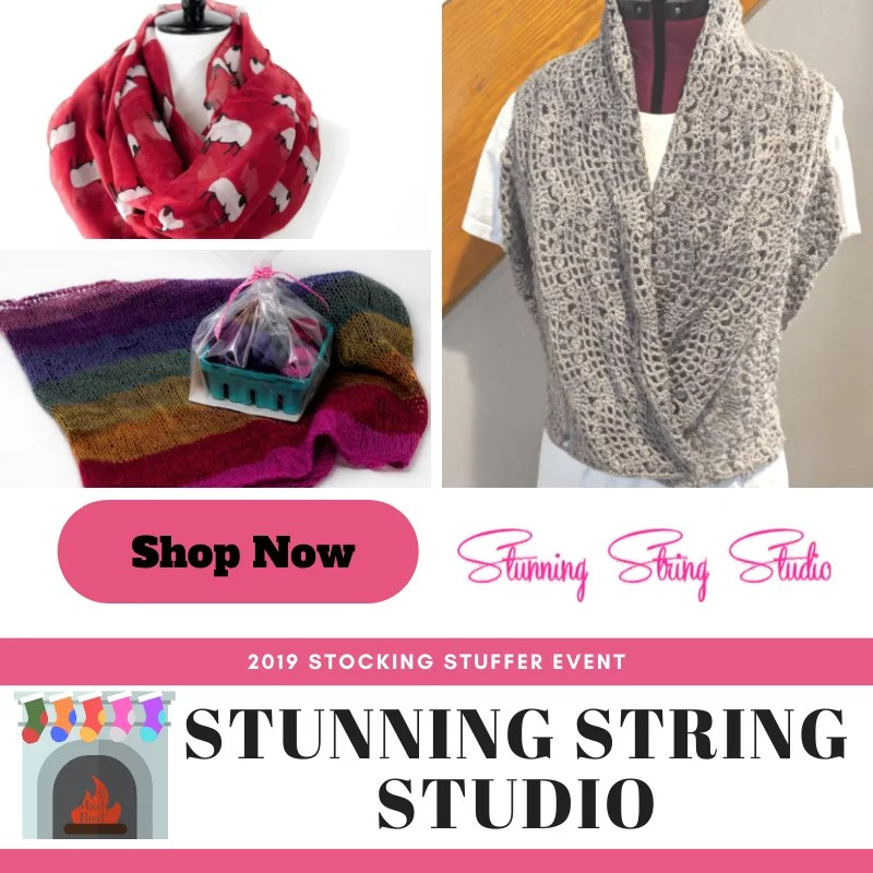 Stunning String Studio-Stocking Stuffer Event 2019 with Marly Bird