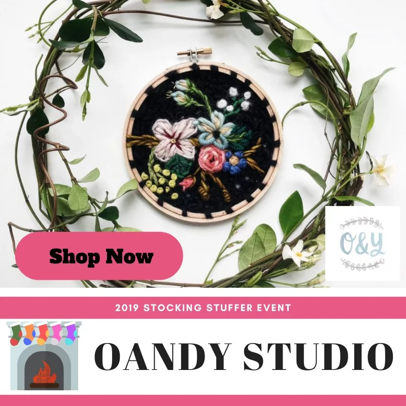 Shop Crochet Embroidery at OandY Studio