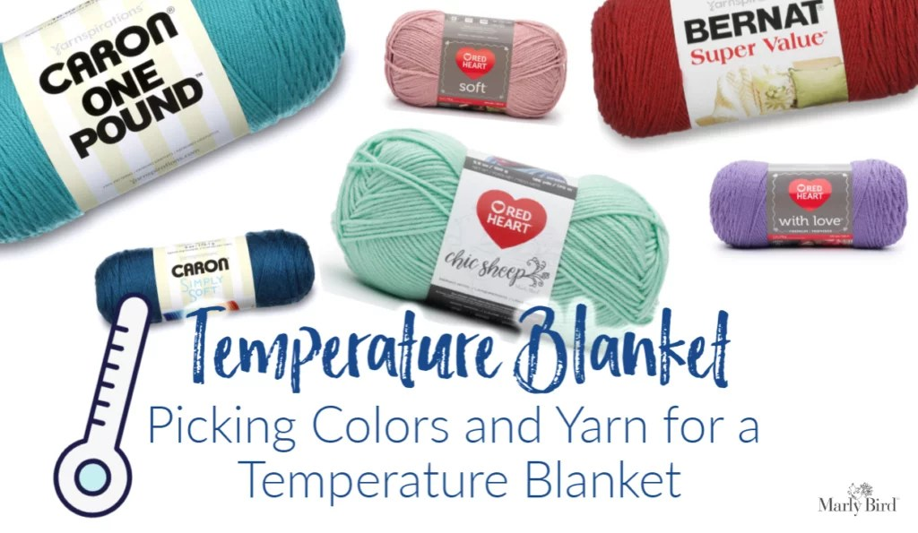 Shop Yarnspirations for your Temperature Blanket Yarn