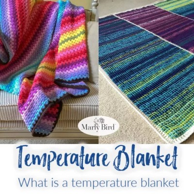 Temperature Blanket | What is a temperature blanket