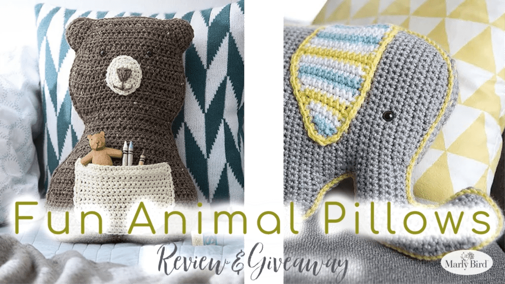 Purchase a copy of Fun Animal Pillows from Amazon