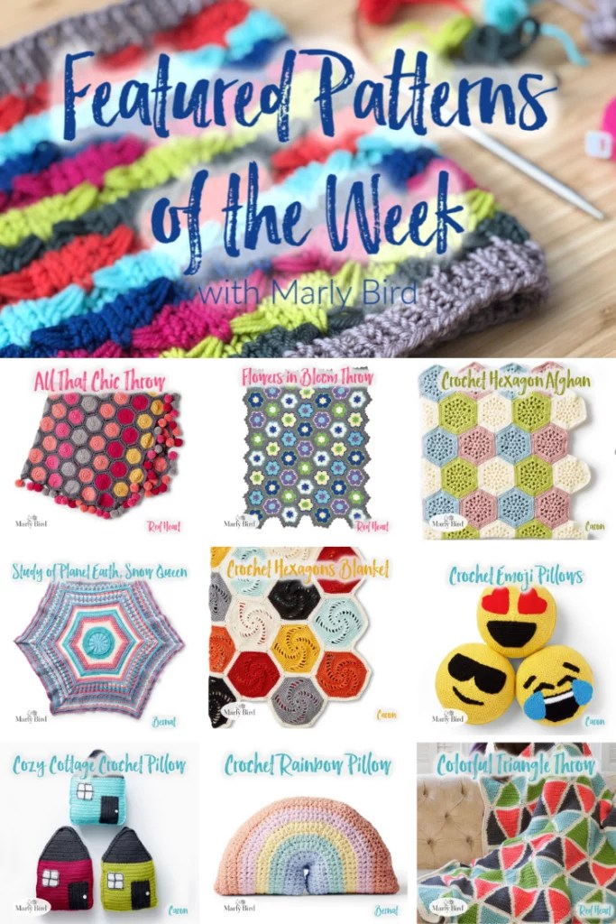 Weekly Featured FREE pattern from Yarnspirations
