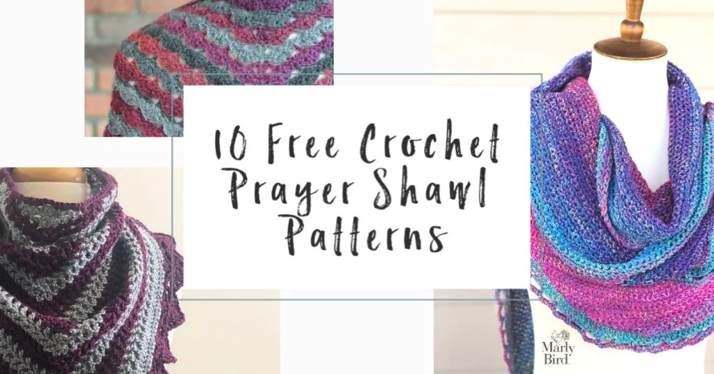 10 FREE Crochet Prayer Shawl Patterns