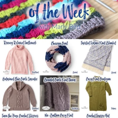10 FREE Soft and Cozy Patterns for Knit and Crochet