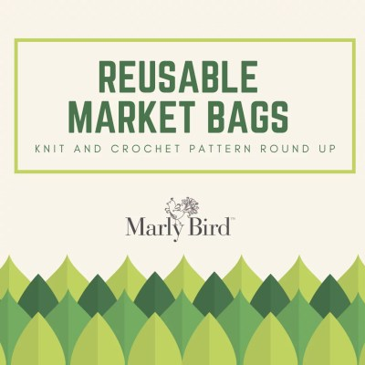Reusable Market Bags | Knit and Crochet