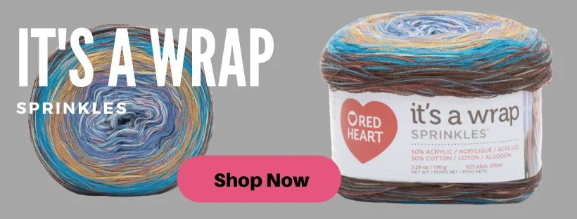 It's A Wrap Sprinkles from Red Heart Yarns