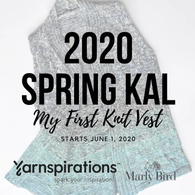 Spring Knit Vest | 2020 Knit-along with Yarnspirations