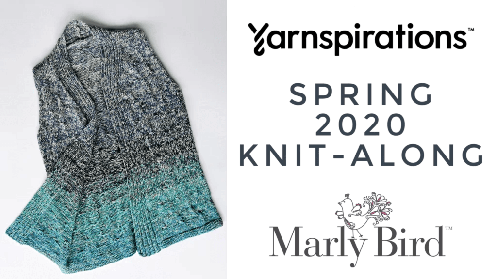 Spring 2020 Knit-along with Marly Bird and Yarnspirations-Knit a Spring Vest