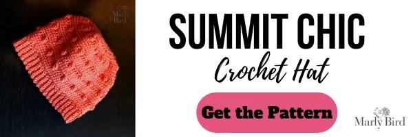 FREE Crochet Hat Pattern | Summit Chic Crochet Hat