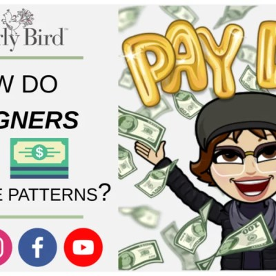How do knit and crochet designers make money with free patterns