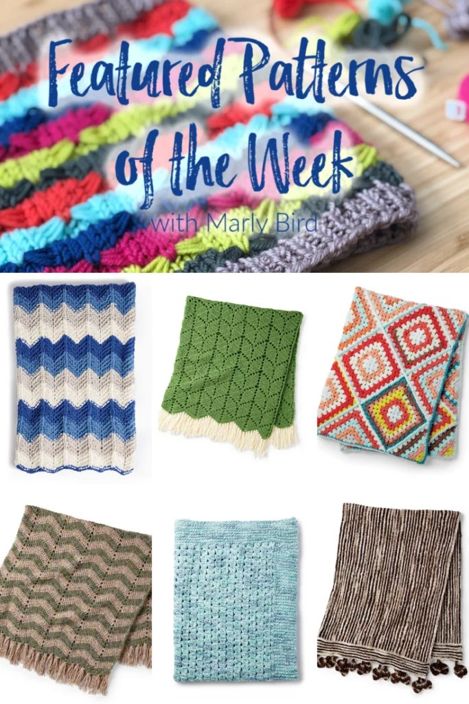 10 FREE Knit and Crochet Blanket Patterns