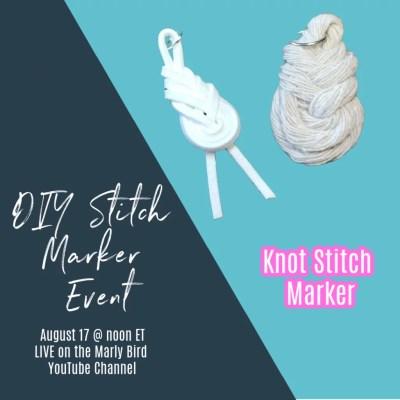 DIY Knot Stitch Markers