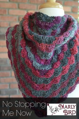 No Stopping Me Now Shawl Pattern #Free by Marly Bird
