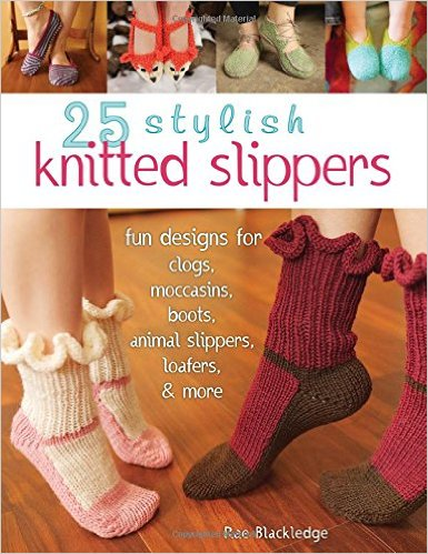 25 Knitted Slippers book