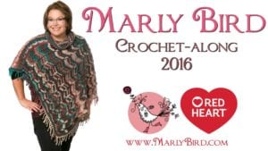Free Crochet Along Perfect Poncho Pattern by Marly Bird and Red Heart Yarns