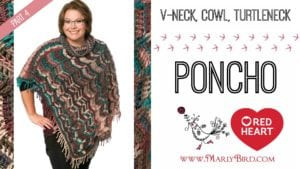Marly Bird 2016 Crochet Along-Popular Poncho Part 4