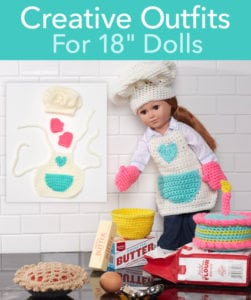"Red Heart FREE 18"" Doll Patterns"