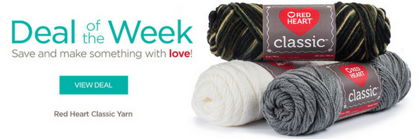Red Heart Classic Yarn: Deal of the Week