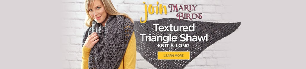 2017 Spring KAL-Textured Triangle Shawl