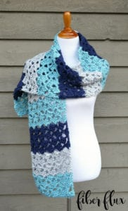 Red Heart Soft Essentials Patterns- Lake House Wrap
