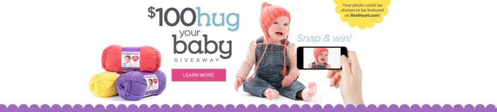 Red Heart Baby Hugs Contest