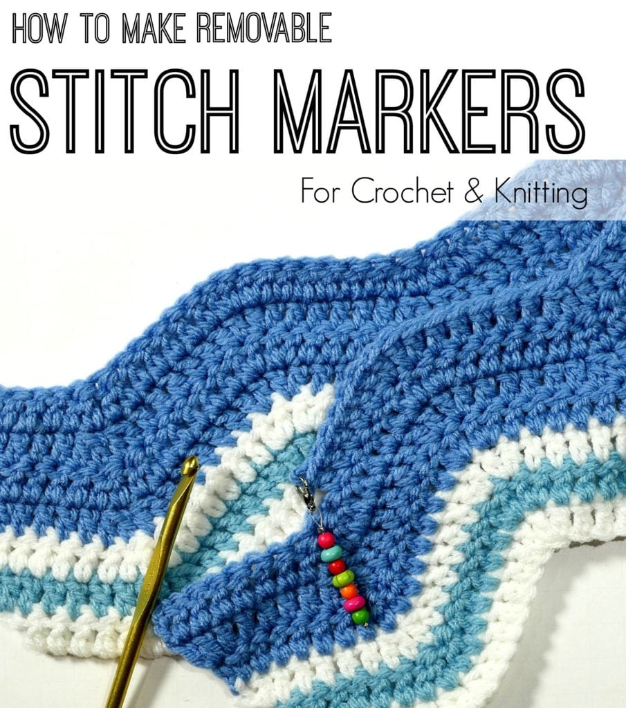 How to Make Removable Stitch Markers