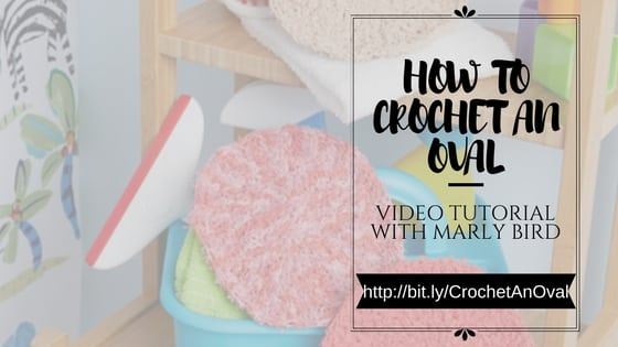 How to crochet an oval video tutorial
