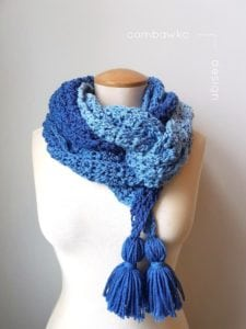 Ocean Breeze Scarf by Oombawka Designs