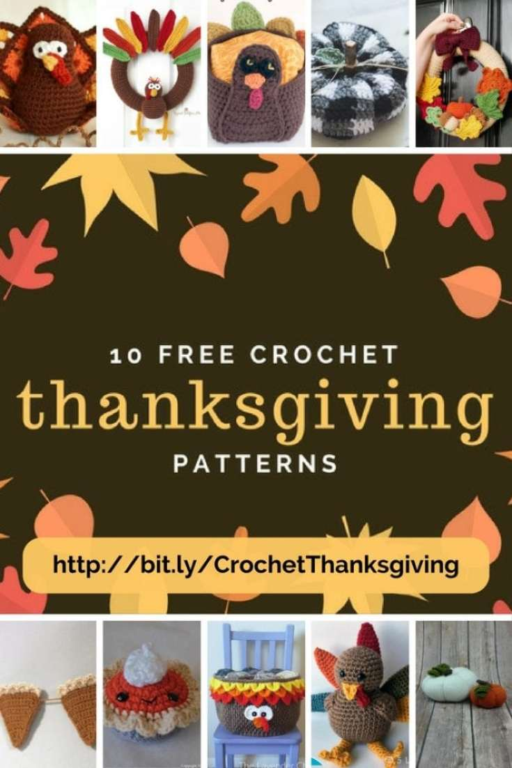 10 Free Crochet Thanksgiving Patterns