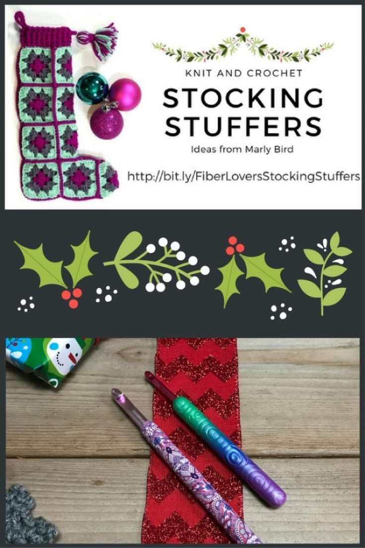 Knit and Crochet Gift Ideas with Happy Crochet Hooks