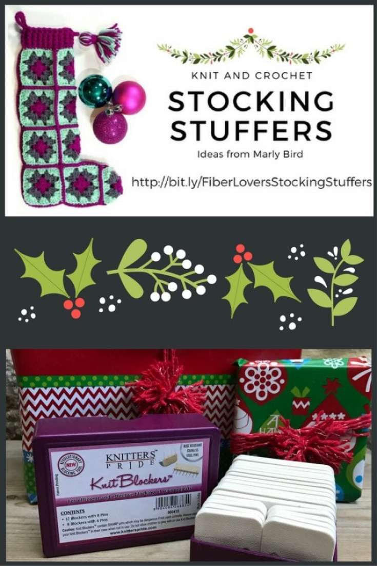 Knit and Crochet Gift Ideas with Knitters Pride Knit Blockers